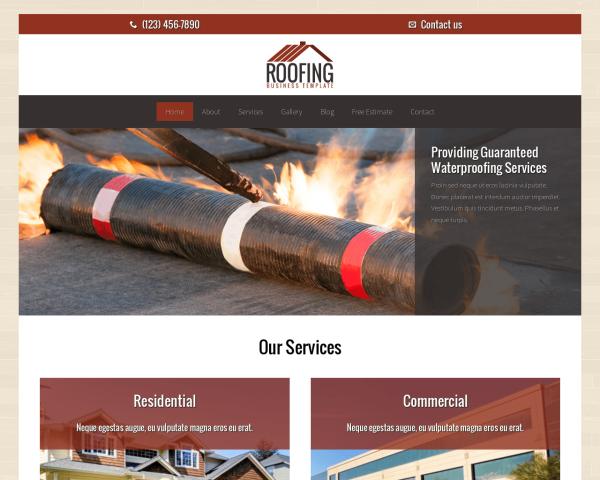 dachdecker webdesign